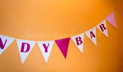 Guirnalda de banderines DiY para tu boda 2-3