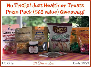 Enter the PRI's Manuka Honey Treats Giveaway. Ends 10/29