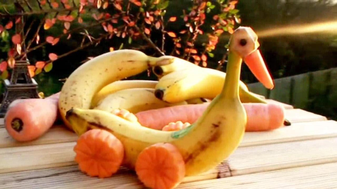 Banana Art Decoration Arts And Crafts Project Ideas