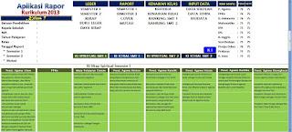 Aplikasi Rapor Kurikulum 2013