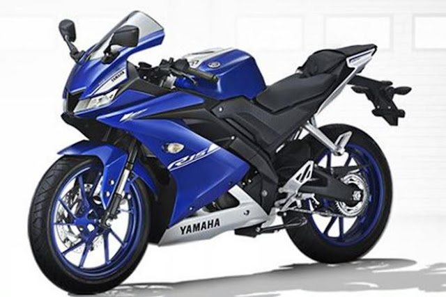 Yamaha R15 V3 blue image 2017