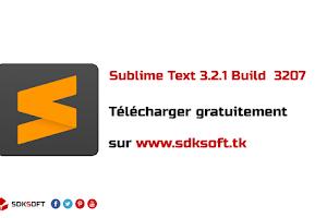Sublime Text 3.2.1 Build  3207