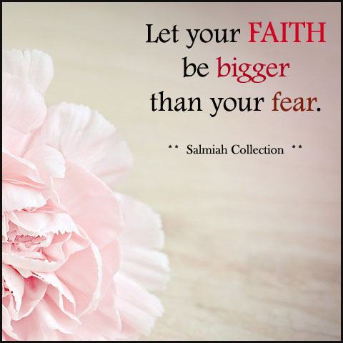Let your faith