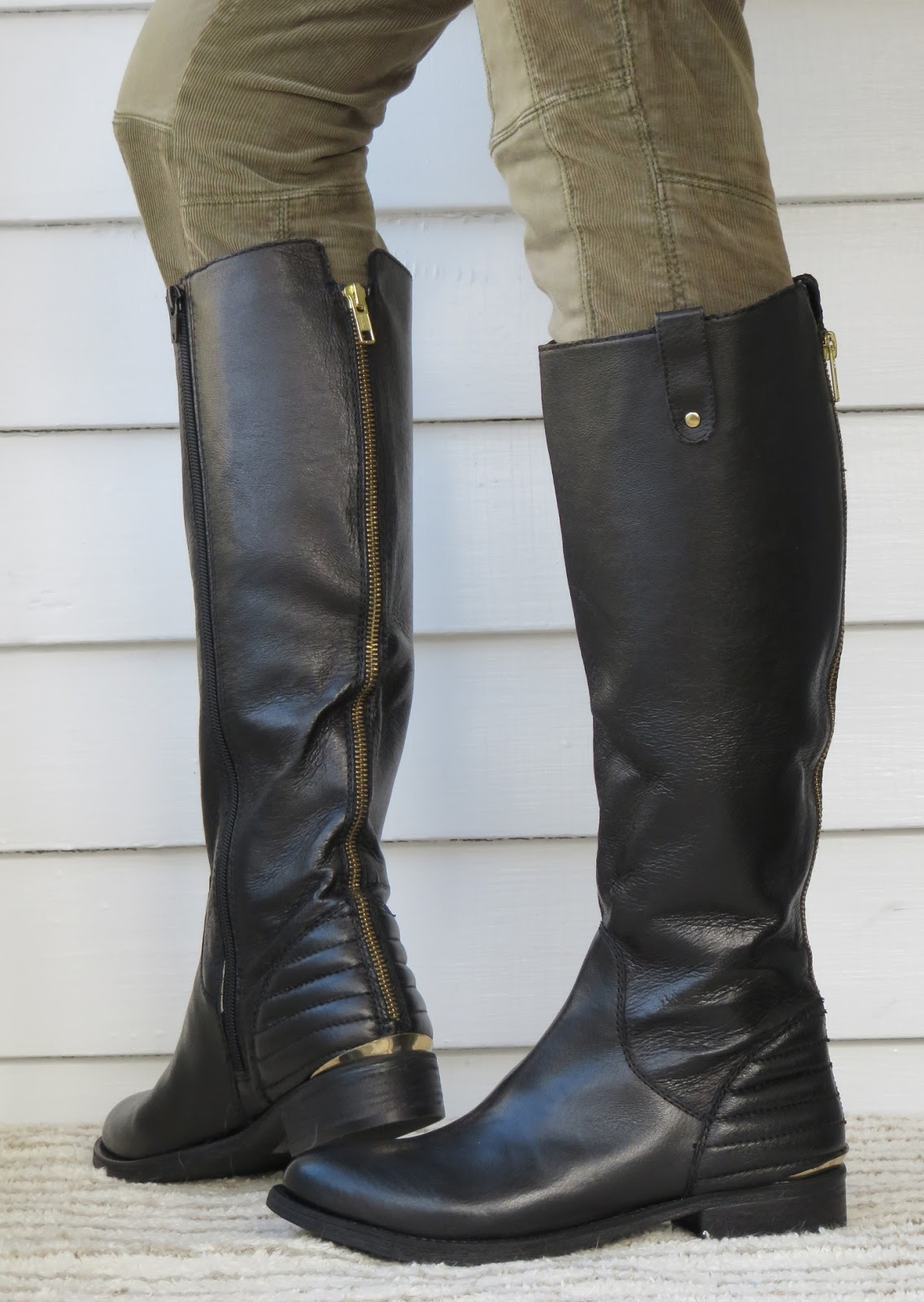 Howdy Slim Riding Boots For Thin Calves Steve Madden Arries
