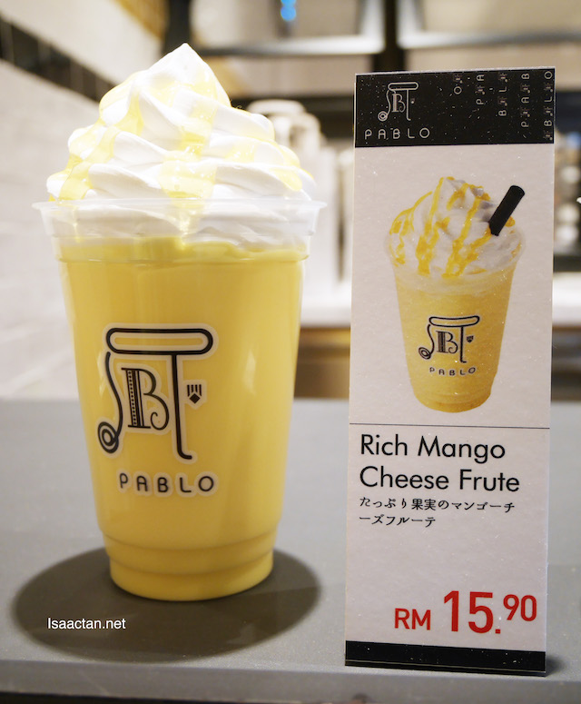 Pablo Rich Mango Cheese Frute - RM15.90