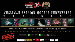 Event Fotografi Hijab Underwater - Friday -Efyusiindo