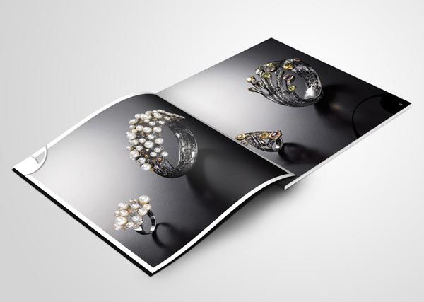 20 Elegant Jewelry Catalogue & Brochure Designs Jayce O