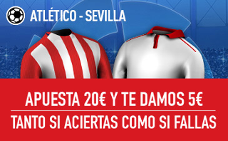 Sportium promocion Atlético vs Sevilla 19 marzo