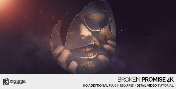 still VIDEOHIVE BROKEN PROMISE 4K After Effects Template download