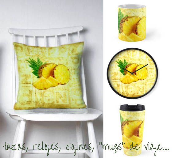 pineapples designs for home decor
