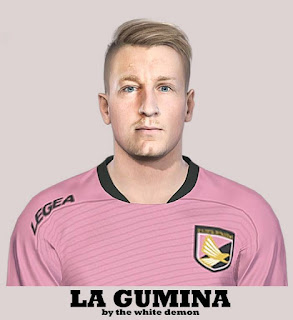 PES 2019 Faces Antonino La Gumina by The White Demon