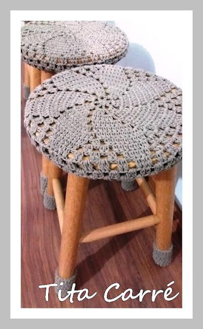 Capa Catavento em Crochet