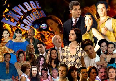Top 10 - Novelas da Globo Explode Coração