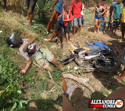 Estudante de direito e comparsa tombam durante assalto em Timon