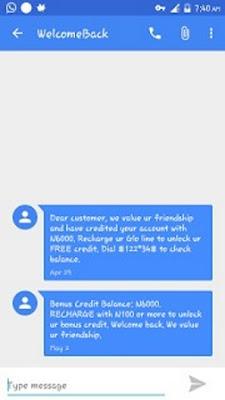 WelcomeBack Bonus: Recharge Your Glo SIM With N100 and Get N600 or Load N1000 and Get N6000 Free Credit