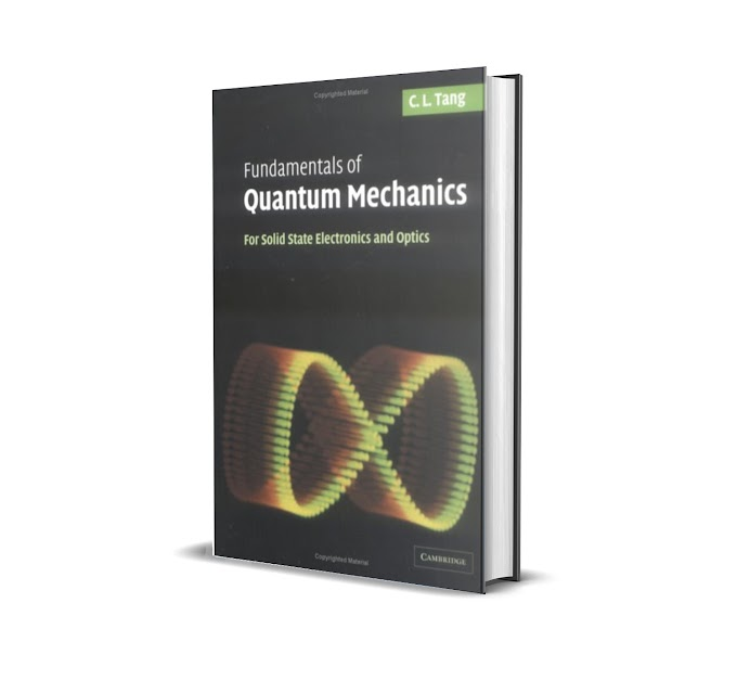 E Book Fundamentals of quantum mechanics for solid state electronics and optics pdf