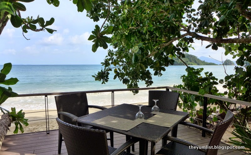 the andaman, beach bar