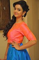 Nithya Shetty in Orange Choli at Kalamandir Foundation 7th anniversary Celebrations ~  Actress Galleries 078.JPG