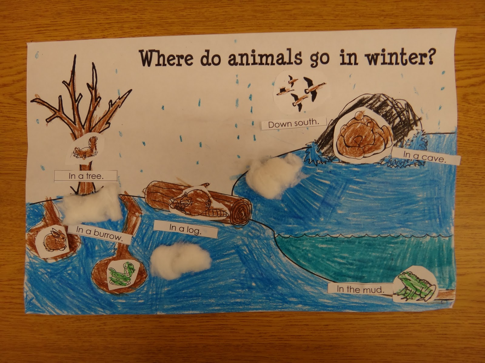 Winter Animal Worksheet Kindergarten