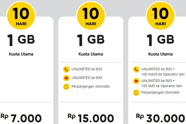 Cara Berhenti Paket Yellow Indosat Via SMS Terbaru 2019