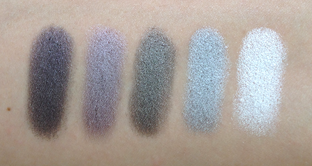 Inglot Eyeshadows - Cool Neutrals and Greys
