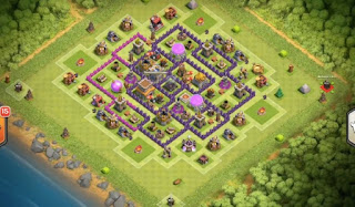 Town Hall 8 Farming Base