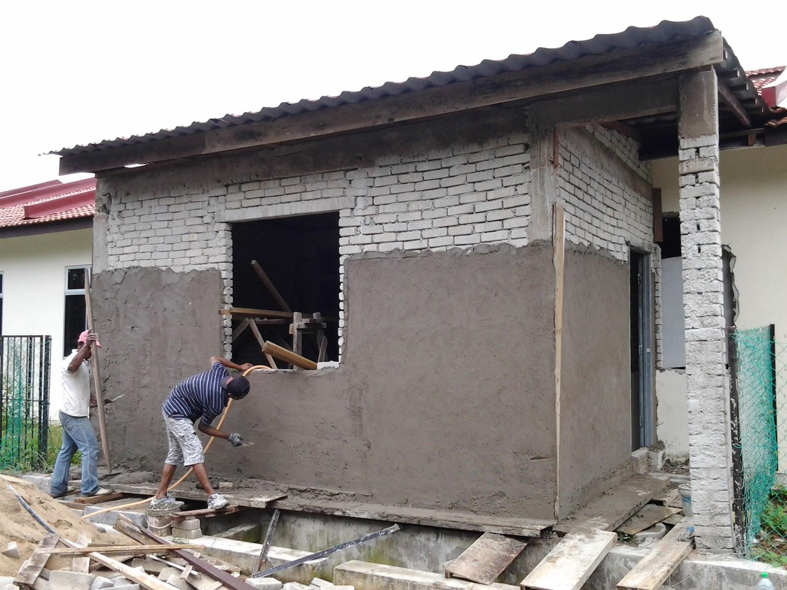 Sambung Dapur Rumah Teres Pematang Badax 3