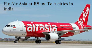 Bookings,flights,seven,destinations,AirAsia,India,open,till,January21,fares,travel,July31,AirAsia,charges,extra,Term,conditions,apply,airline
