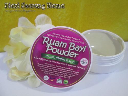 Ruam Bayi Powder Tidak Pernah Menukar Label