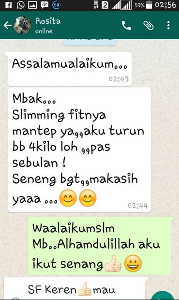 Testimoni Slimming Fit