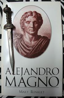 Portada del libro Alejandro Magno, de Mary Renault