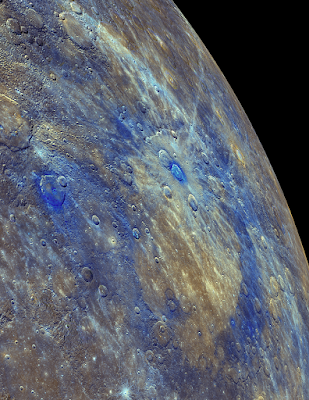 Mercury's mysterious 'darkness' explained