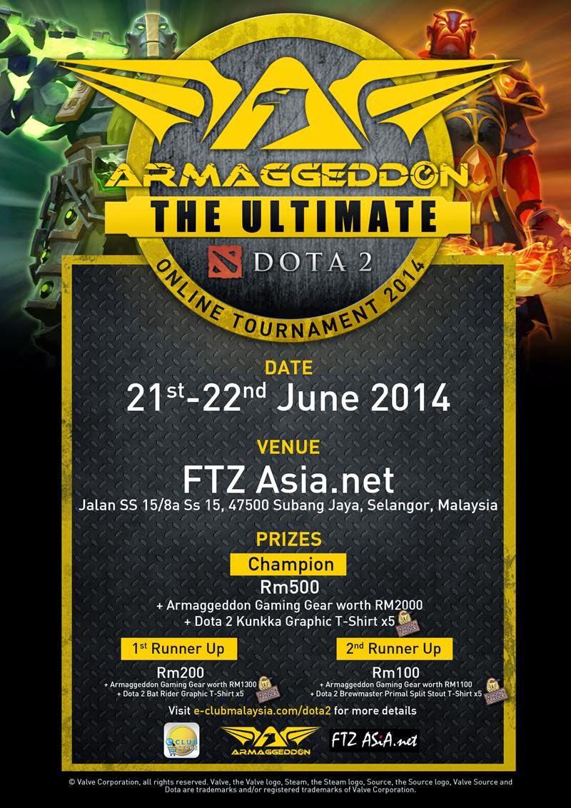 Armaggeddon Dota2 Online Tournament 3