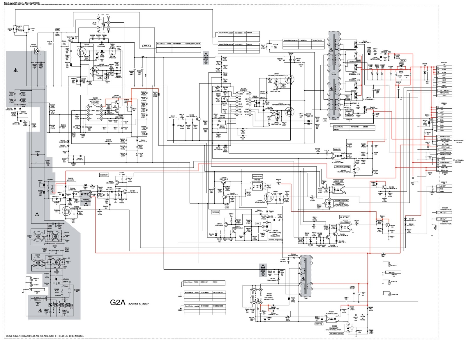 diagram sony led tv diagram full version hd quality tv diagram konka led lcd tv 32f3000c supra stv lcs26740 tv schematic power and [ 1600 x 1177 Pixel ]