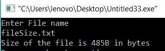Display File Size