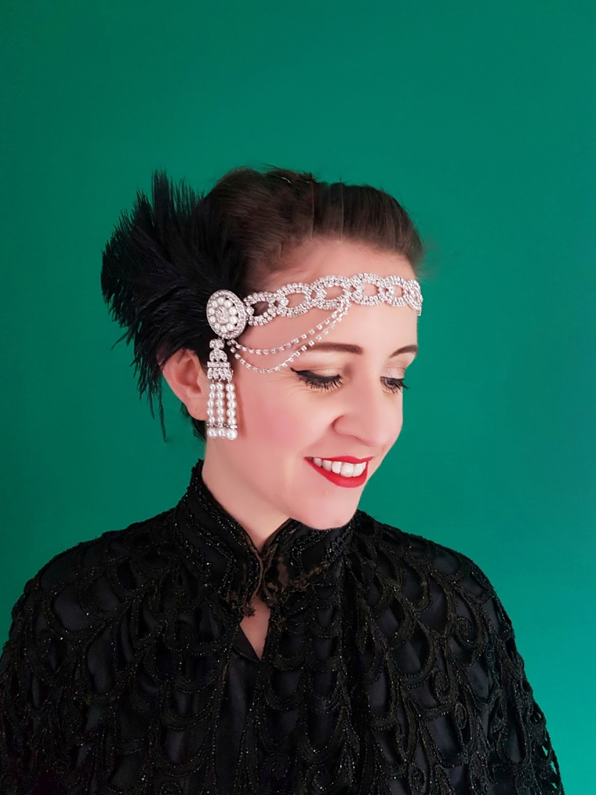Dirty Fabulous 1920 S Style Rhinestone And Feather