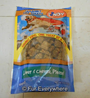 Lindy & Company Liver & Cheese Please cat treats