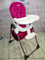 Baby High Chair CocoLatte CL280/CL580 Papiwi-Red