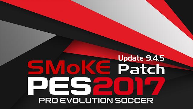 Update Patch PES 2017 Terbaru dari SMoKE V9.4.6