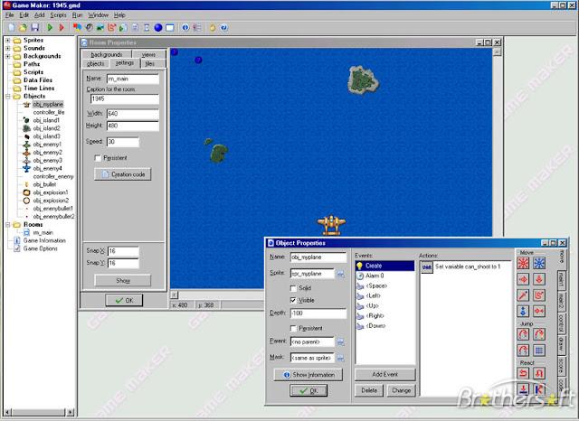 تحميل برنامج صانع الالعاب جيم ميكر Download Game Maker Free