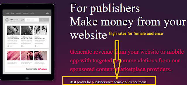 best ad network for womens female websites blogs