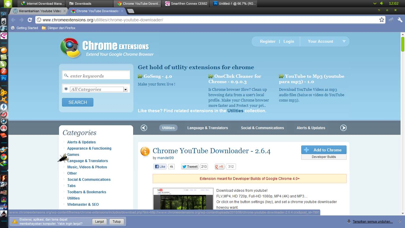 Youtube video downloader add on for chrome