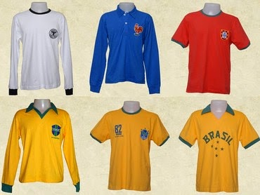 Marca terá edição especial de camisas das seleções que virão disputar a  Copa do Mundo 7a90cc5a6a31b