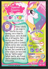 MLP Princess Celestia Series 1 Trading Card