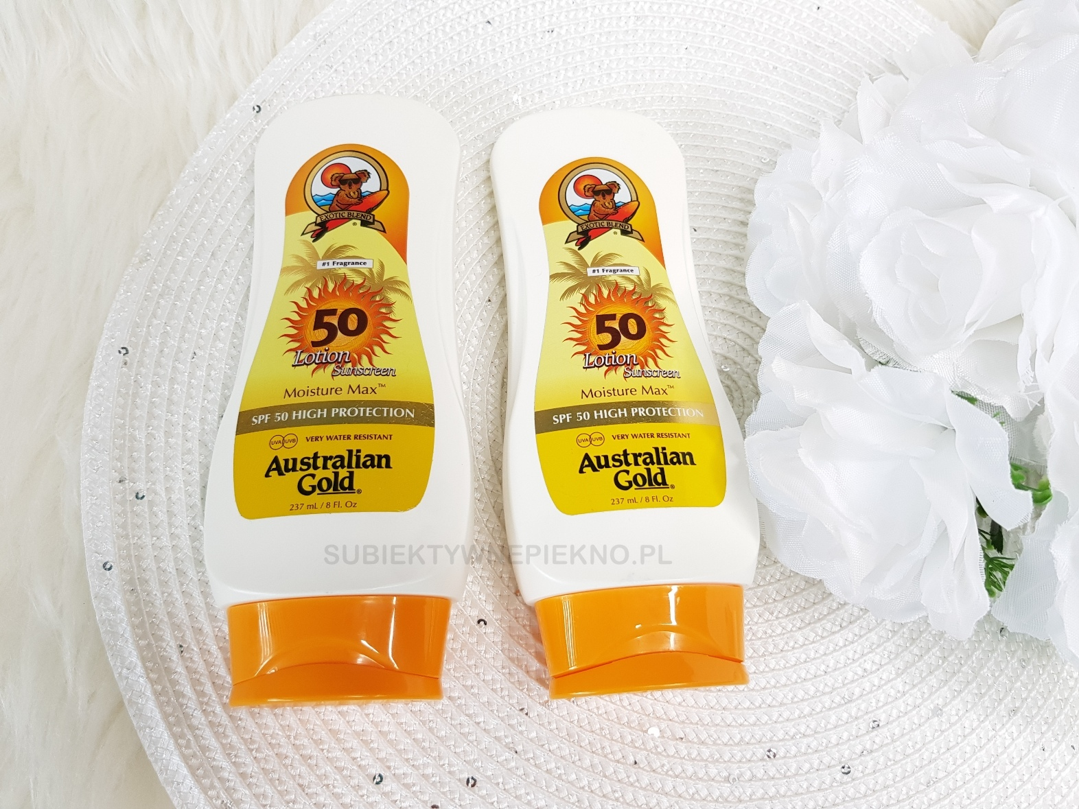 kremy do opalania spf50 Australian Gold