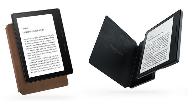 Amazon launches Kindle Oasis, its thinnest and lightest Kindle
