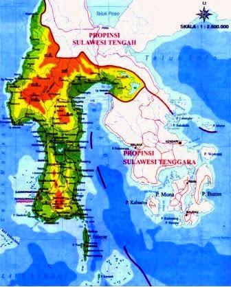 Pengertian Peta | Fenomena Fisik serta Fenomena Buatan Pada Peta