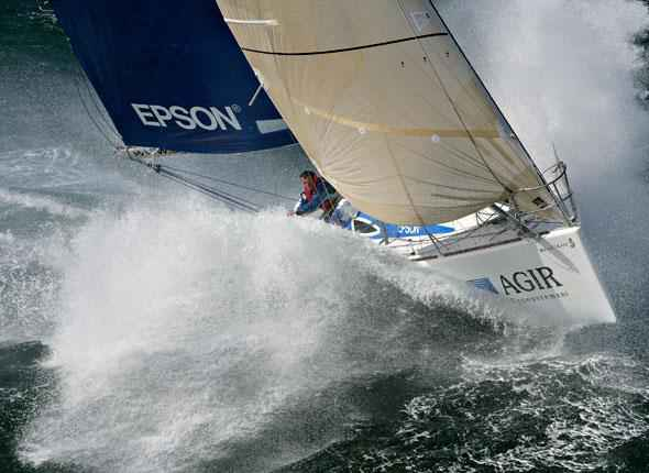 a4ee0017 This picture symbolizes offshore racing to me - it's tough, wet, cold,  uncomfortable, it's you and your boat against pretty much everything else.