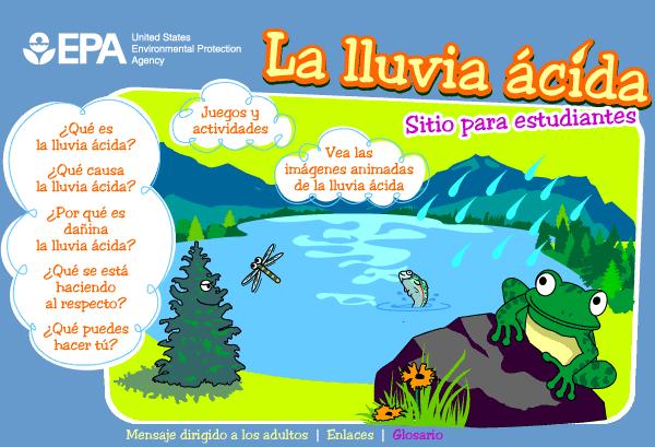 APRENDER ES DIVERTIDO: LA LLUVIA ÁCIDA