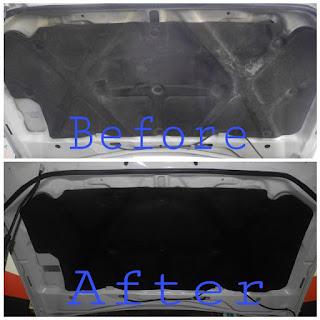 The best quality polish in KK; Paint restoring; UV dressing in KK; Kota Kinabalu the best SPA for car